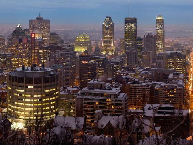 Montreal centre ville